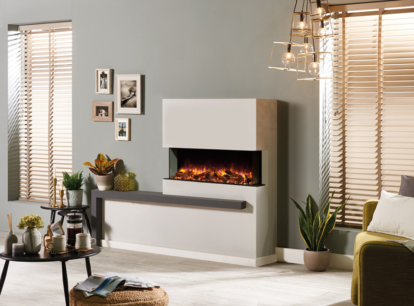 Electric Fireplace - Skope E110 3 Sided
