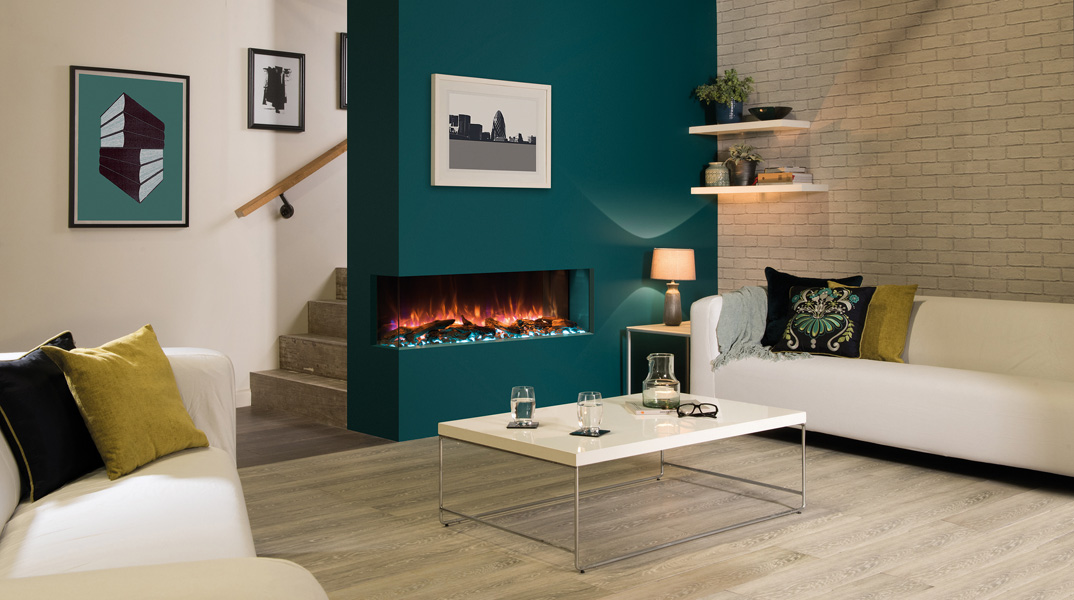 Electric Fireplace - Skope E110 Corner