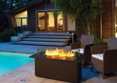 Gas Firetable - PTO30CFT - Sunset Bronze Top