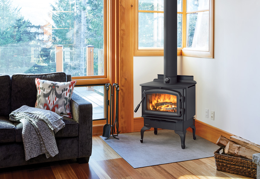 Wood Stove - F1500 Black Rustic